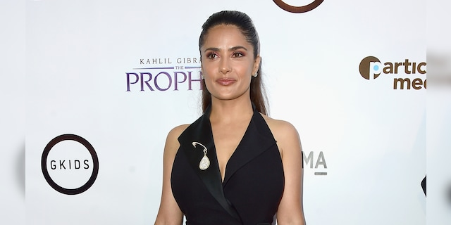 Salma Hayek thought about what she is grateful for on Tuesday, just days before the new year.