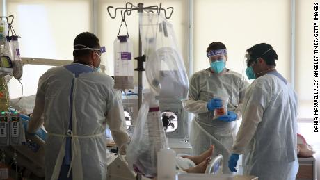 California hospitals have confirmed & # 39;  Brink of disaster & # 39;  By the spread of the Coronavirus