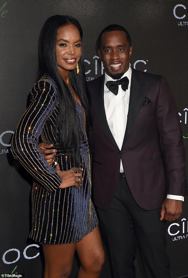 Tragedy: It is not known if anything was taken from the rapper's home, as the late Kim Porter was tragically found dead on November 15, 2018 (pictured in Novemer 2015)