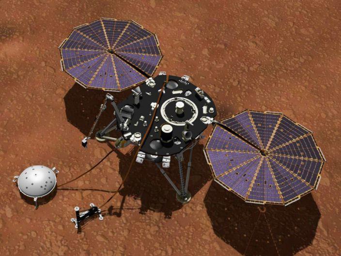 Insight Lander Mars
