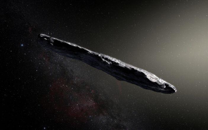 OUMUAMUA Object makes Hawaiian Alien Observatory & # 92;  .JPG