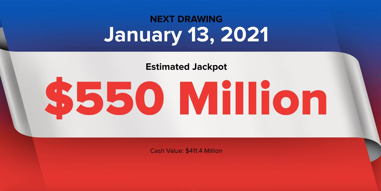 Powerball Lottery: Did You Win Wednesday's $ 550M Powerball Fee?  Winning Numbers, Live Results (1/13/2021)