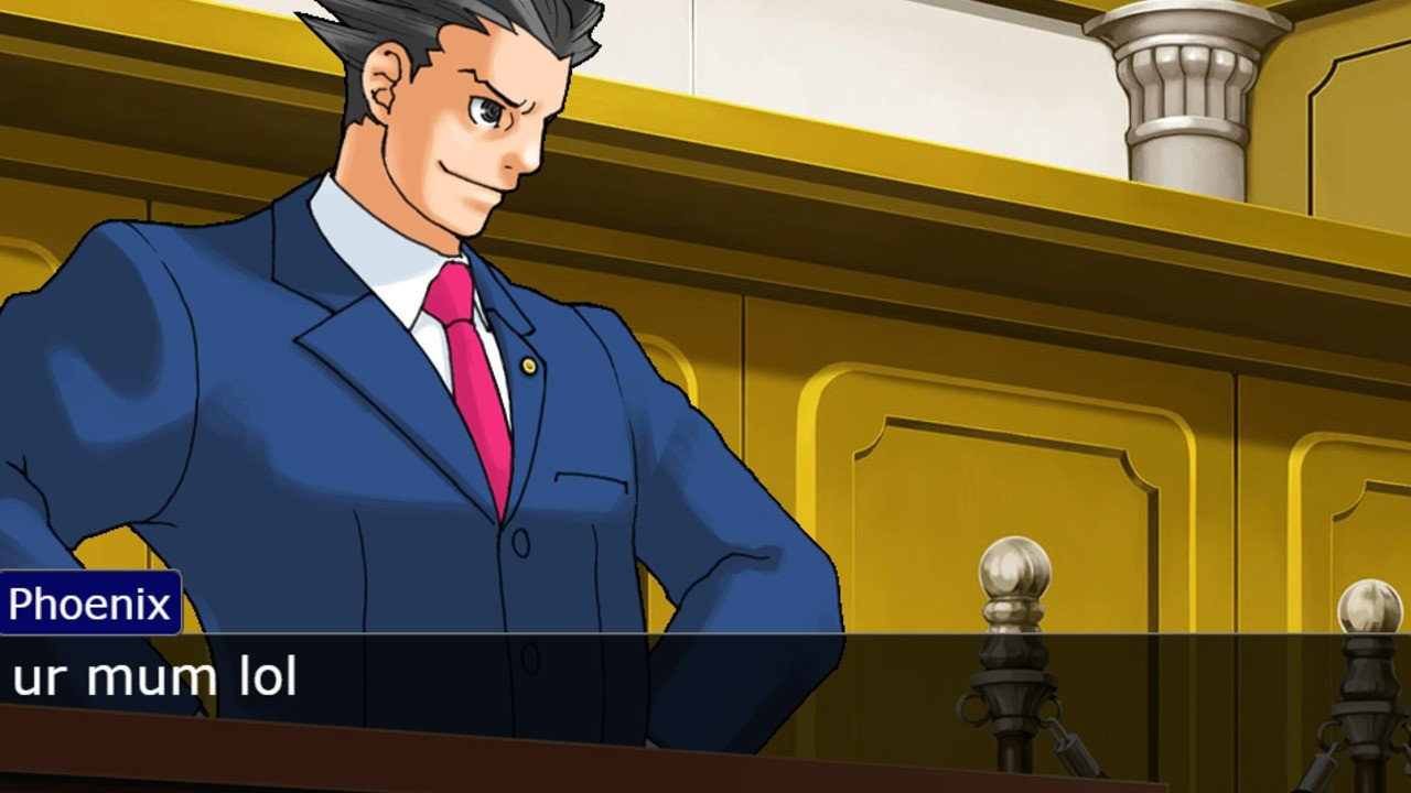 Random: This bot turns Reddit arguments into Phoenix Wright and Edgeworth shouting at each other