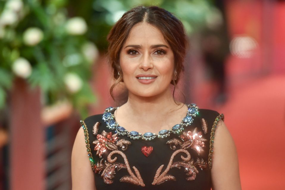 Berlin, Germany - February 26: Salma Hayek stands in front of & quot;  The Roads Not Taken & quot;  Premiere during the 70th Berlin International Film Festival in Berlin at the Berlinale Palace on February 26, 2020 in Berlin, Germany.  (Photo by Stephan Cardinale - Corbis / Corbis via Getty Images)