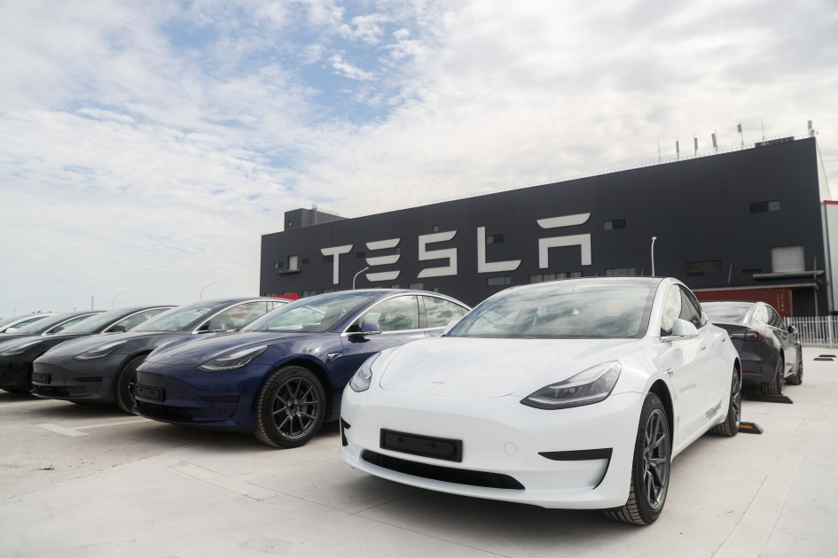 Tesla produced half a million electric cars in 2020