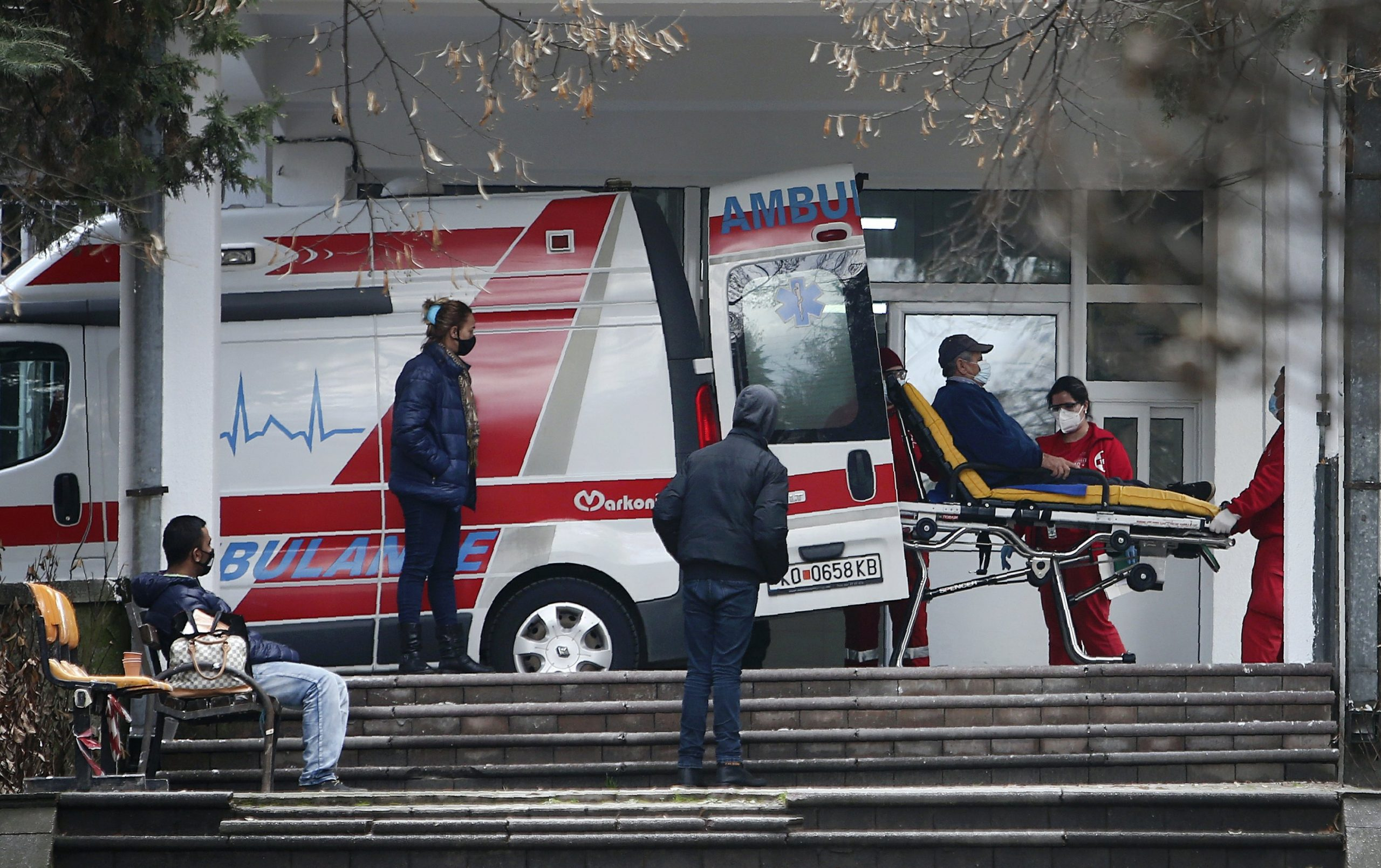 The Balkans feel deserted as vaccinations begin in Europe
