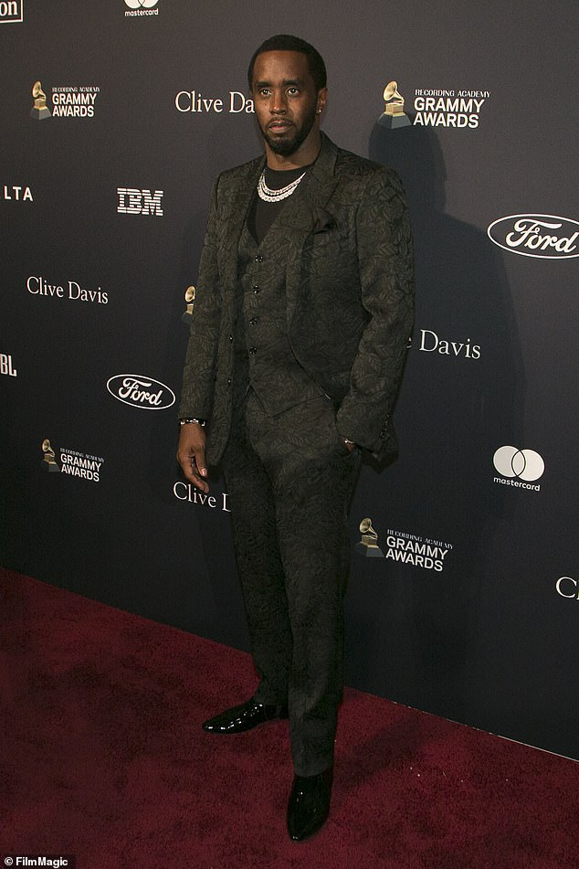 Break-in: Sean Diddy Combs' home in Lake Toluca, Los Angeles, has been targeted by thieves.  Diddy, 51, will have to search the house to see if something is missing